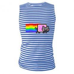 Майка-тільняшка Nyan cat