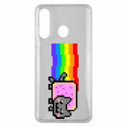 Чохол для Samsung M40 Nyan cat