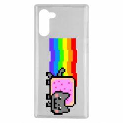 Чохол для Samsung Note 10 Nyan cat