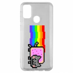 Чохол для Samsung M30s Nyan cat