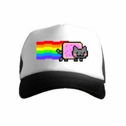 Дитяча кепка-тракер Nyan cat