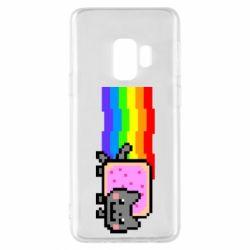 Чохол для Samsung S9 Nyan cat