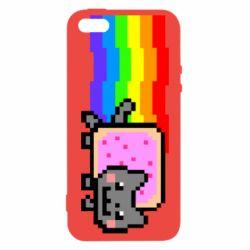 Чохол для iphone 5/5S/SE Nyan cat
