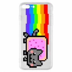 Чохол для iPhone 8 Plus Nyan cat