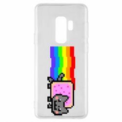 Чохол для Samsung S9+ Nyan cat