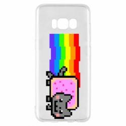 Чохол для Samsung S8 Nyan cat