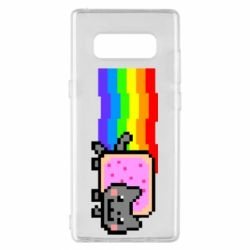 Чохол для Samsung Note 8 Nyan cat