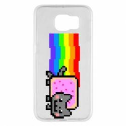 Чохол для Samsung S6 Nyan cat