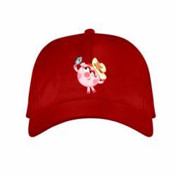 Купить Детская кепка Нюша в шляпке, FatLine