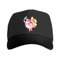 Купить Кепка-тракер Нюша в шляпке, FatLine