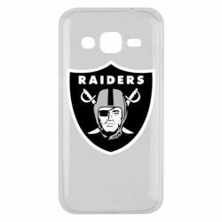 Чохол для Samsung J2 2015 Oakland Raiders