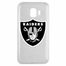 Чохол для Samsung J2 2018 Oakland Raiders