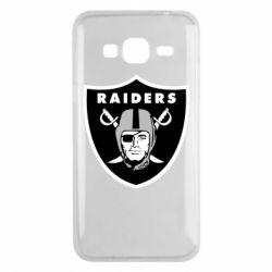 Чохол для Samsung J3 2016 Oakland Raiders