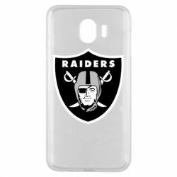 Чохол для Samsung J4 Oakland Raiders