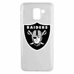 Чохол для Samsung J6 Oakland Raiders
