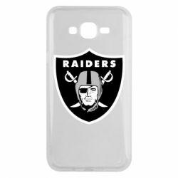 Чохол для Samsung J7 2015 Oakland Raiders