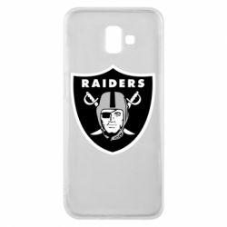 Чохол для Samsung J6 Plus 2018 Oakland Raiders
