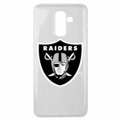 Чохол для Samsung J8 2018 Oakland Raiders
