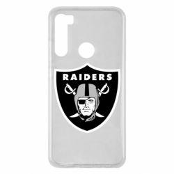 Чохол для Xiaomi Redmi Note 8 Oakland Raiders