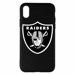 Чохол для iPhone X/Xs Oakland Raiders