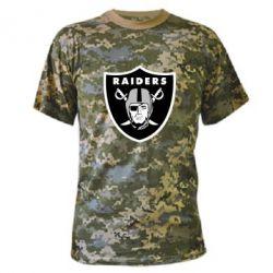 Камуфляжная футболка Oakland Raiders - FatLine
