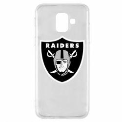 Чохол для Samsung A6 2018 Oakland Raiders