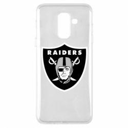 Чохол для Samsung A6+ 2018 Oakland Raiders