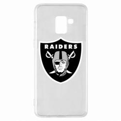 Чохол для Samsung A8+ 2018 Oakland Raiders