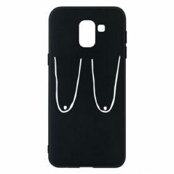 Чохол для Samsung J6 Обвислі груди