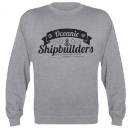 Реглан (свитшот) Oceanic Shipbuilders - FatLine