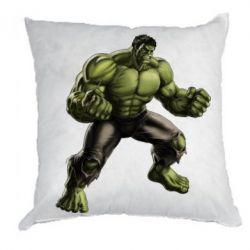 Подушка Очень злой Халк