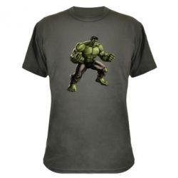 Камуфляжная футболка Очень злой Халк - FatLine