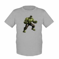 Детская футболка Очень злой Халк - FatLine