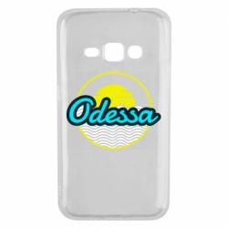 Чехол для Samsung J1 2016 Odessa vector