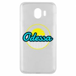 Чехол для Samsung J4 Odessa vector