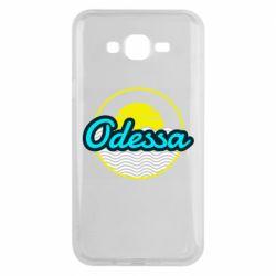 Чехол для Samsung J7 2015 Odessa vector