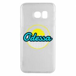 Чехол для Samsung S6 EDGE Odessa vector