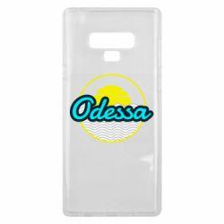 Чехол для Samsung Note 9 Odessa vector