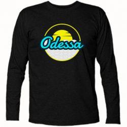 Футболка с длинным рукавом Odessa vector
