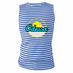 Майка-тельняшка Odessa vector