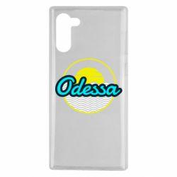 Чехол для Samsung Note 10 Odessa vector