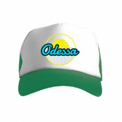 Детская кепка-тракер Odessa vector