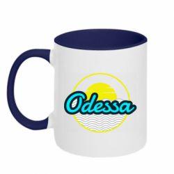 Кружка двухцветная 320ml Odessa vector