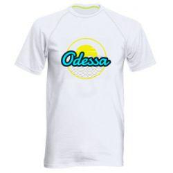 Мужская спортивная футболка Odessa vector