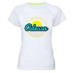 Женская спортивная футболка Odessa vector