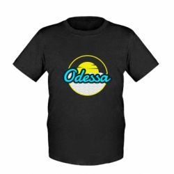 Детская футболка Odessa vector