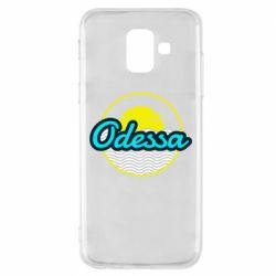 Чехол для Samsung A6 2018 Odessa vector