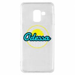 Чехол для Samsung A8 2018 Odessa vector