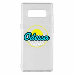 Чехол для Samsung Note 8 Odessa vector