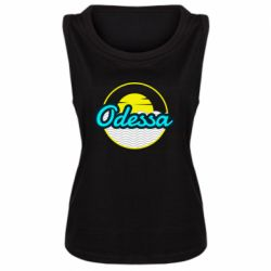 Женская майка Odessa vector